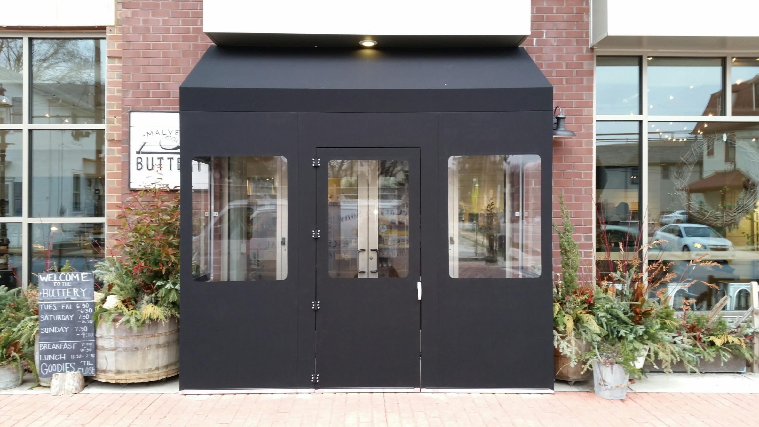 Seasonal Removable Creative Vestibule Awnings Maccarty