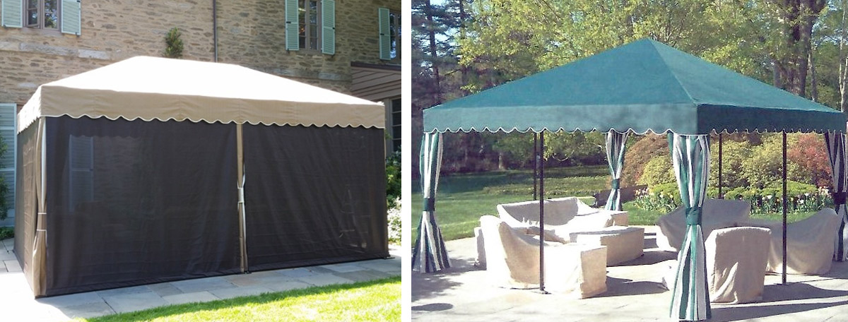 free standing seasonal canopies