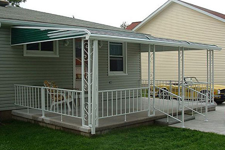 Aluminum Awnings Maccarty And Sons Awnings Canopies