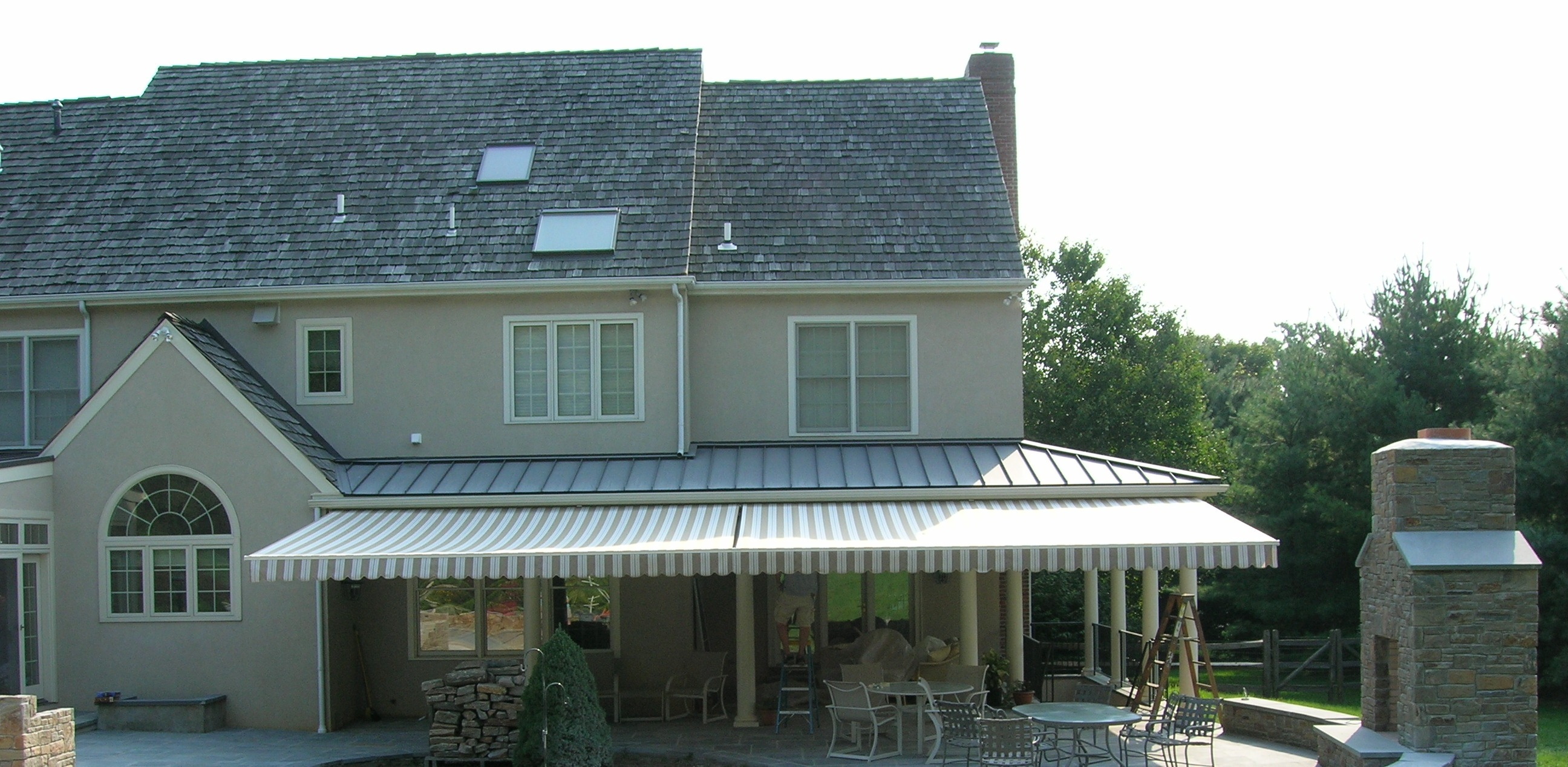 Retractable Awnings And Canopies Maccarty And Sons